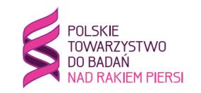 logo polskie towarzytswo do badań nad rakiem piersi