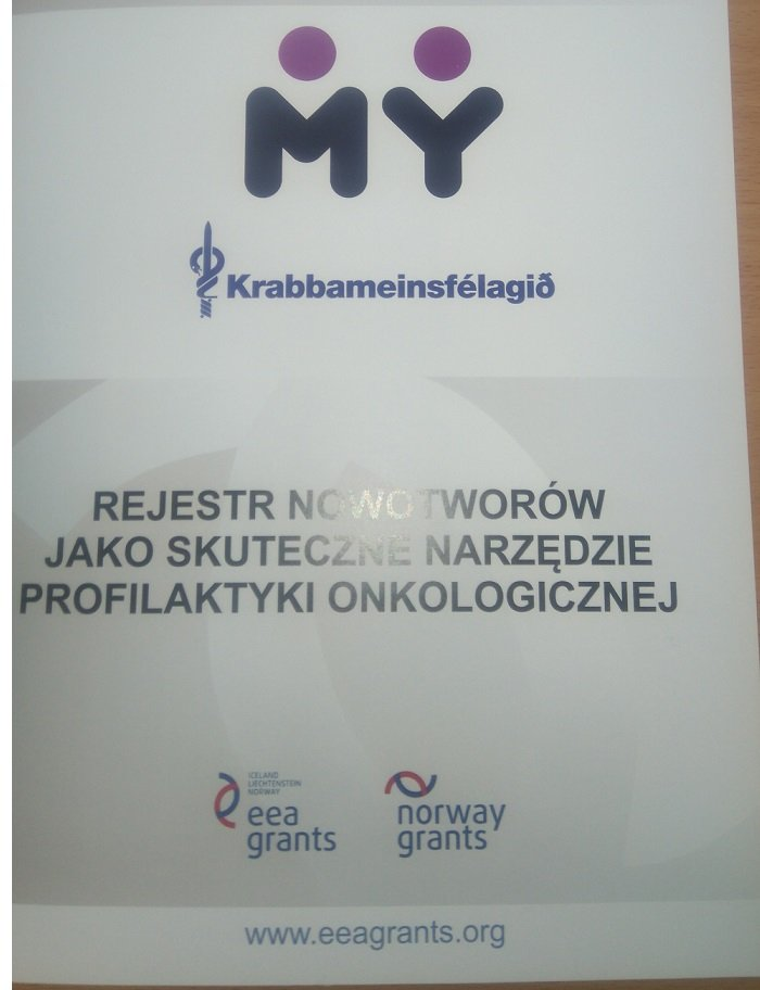 raport o rejestrze nowotworów