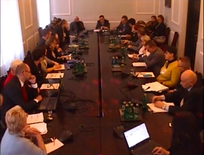 posiedzenie Parlamentarnego Zespołu ds. Praw Pacjentów