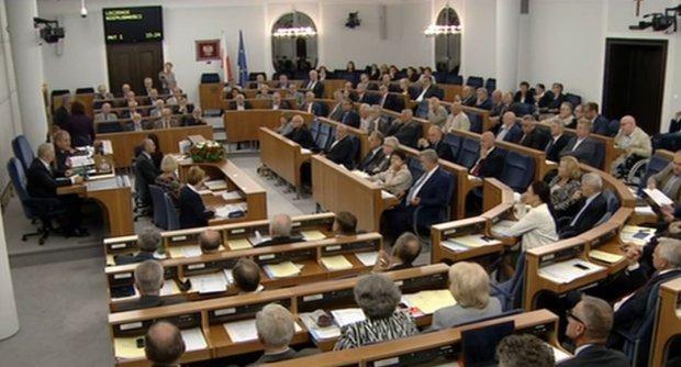 posiedzenie w senacie