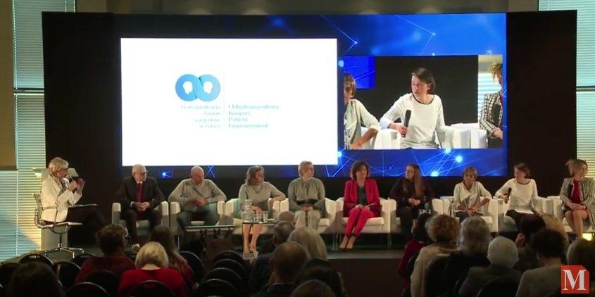agata polińska na kongresie patient empowerment