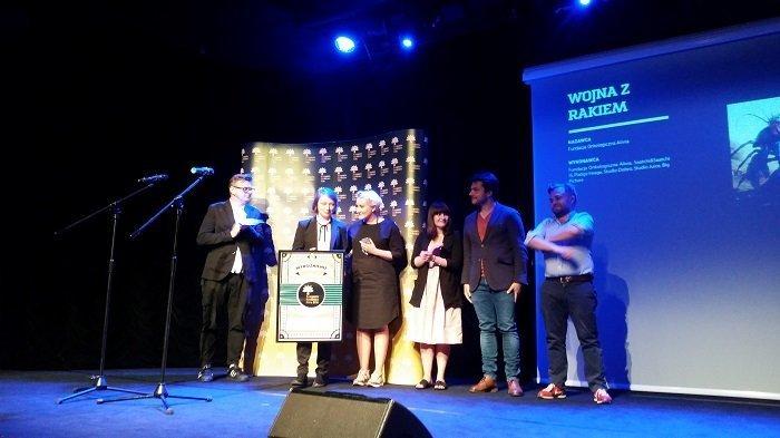 wręczenie nagród kampania społeczna roku 2016 fundacja alivia