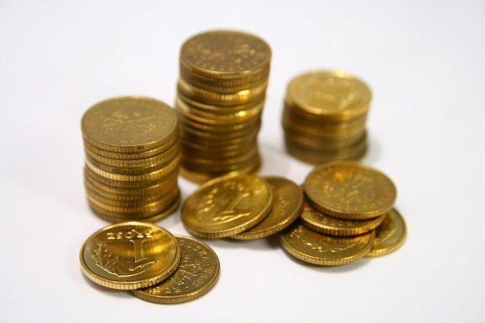 groszówki pieniądze
