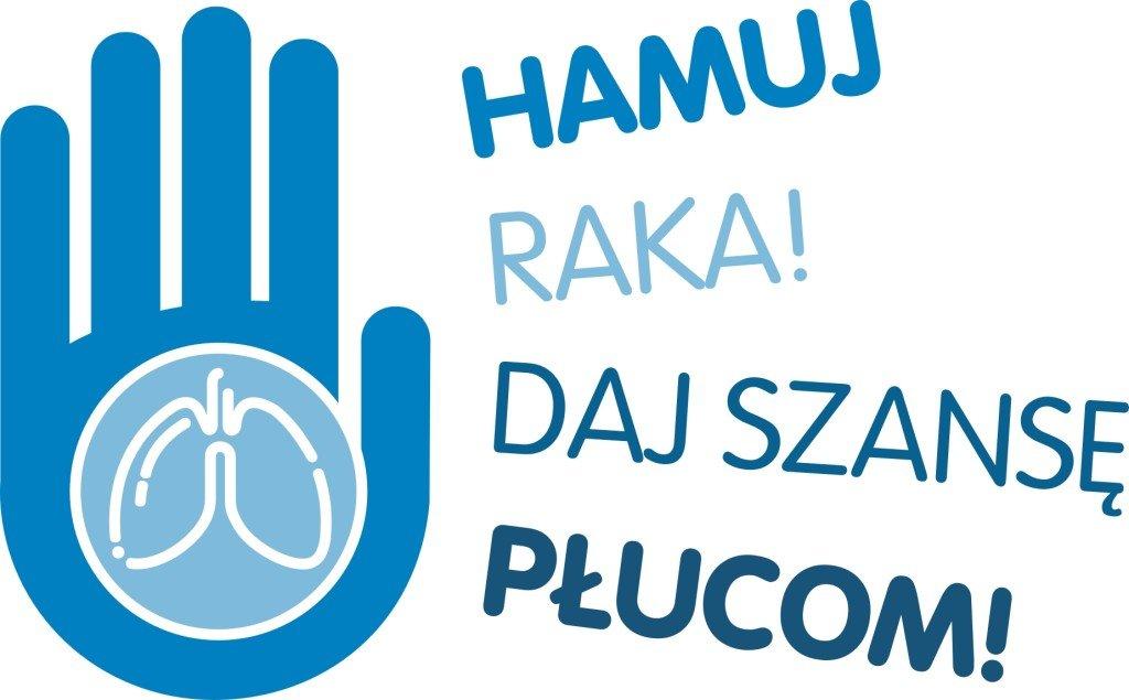 logo hamuj raka daj szansę płucom