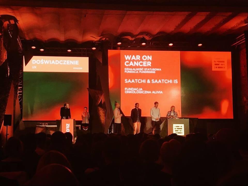gala innovation, kampania wojna z rakiem
