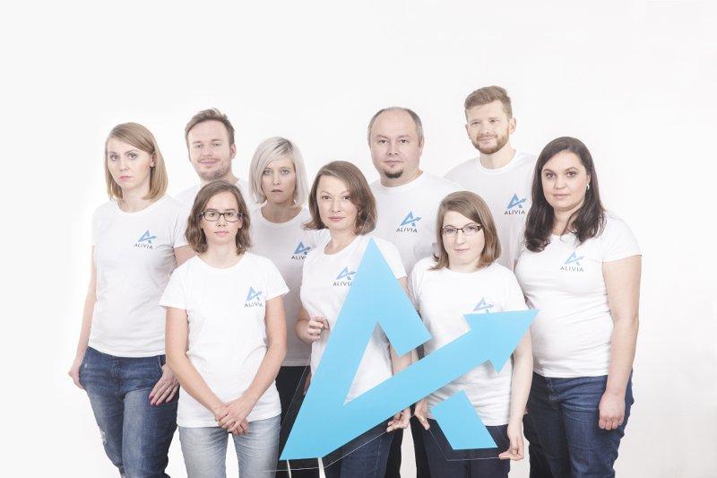 pracownicy Fundacji Alivia